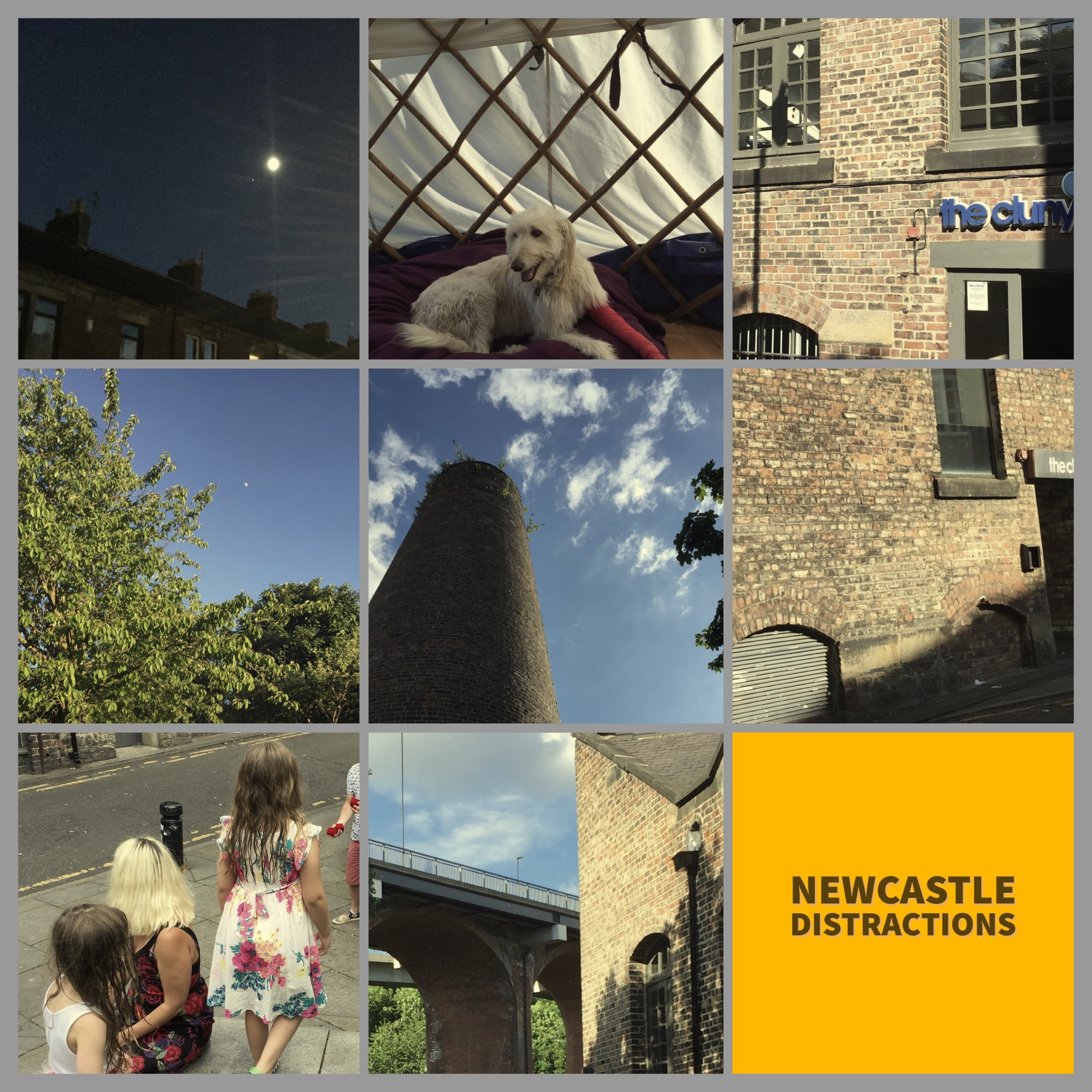 Newcastle, Ouseburn, Gosforth, Walk, shadows, juggling
