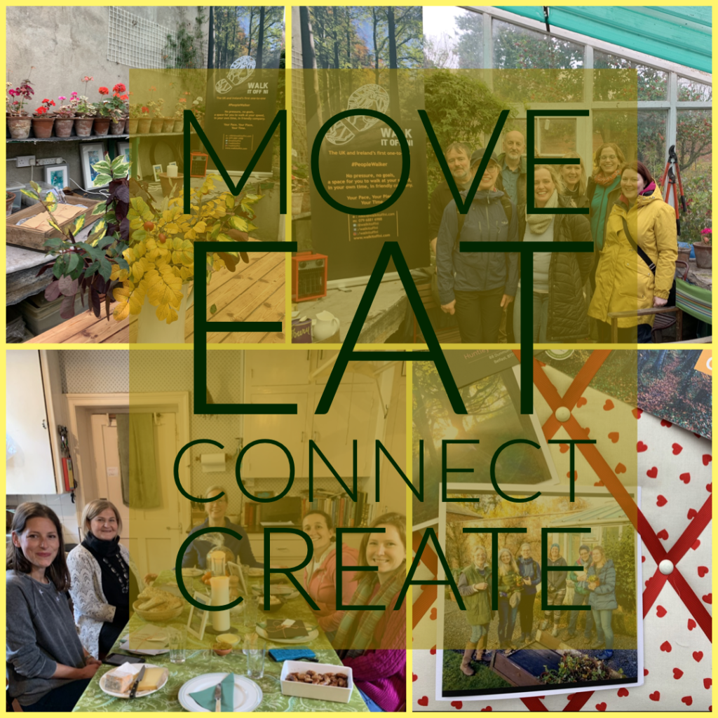 Move, Eat, Connect, Create