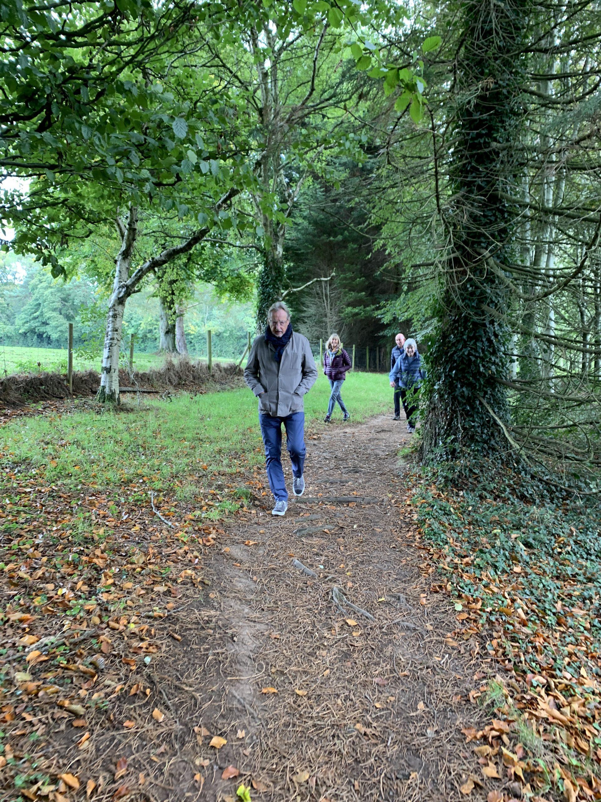 Walking in Hidden Huntley