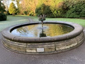 Fountain in Lady Dixon Park